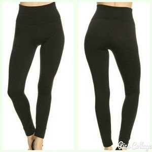 Jewely's Justifiables Pants - SALE!  Fleece-Lined High-Waist Black Leggings